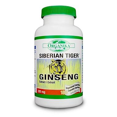 Organika® Ginseng Siberian Tiger Tablets, 2 x 200/Pack