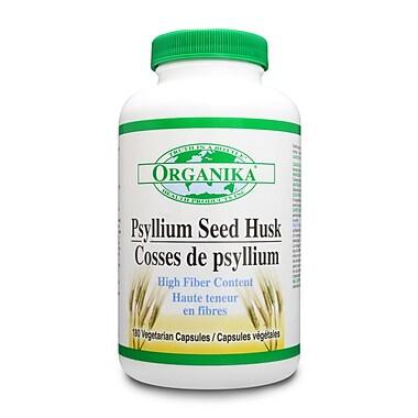 Organika® Psyllium Husk Capsules, 3 x 180/Pack