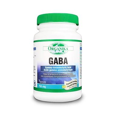 Organika® Gaba Vegetarian Capsules, 2 x 90/Pack