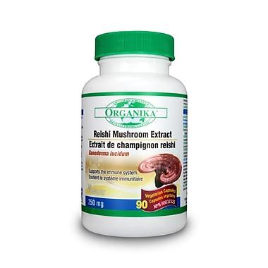 Organika® Mushroom Extract Reishi Vegetarian Capsules, 3 x 90/Pack