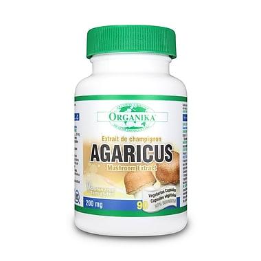 Organika® Mushroom Extract Agaricus Capsules, 3 x 90/Pack