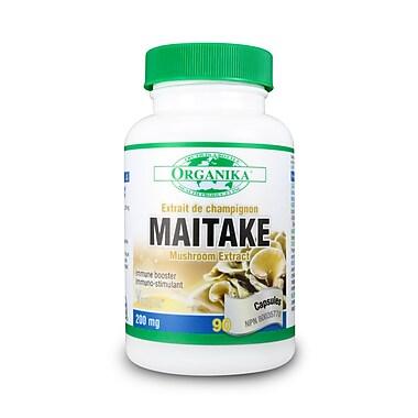 Organika® Mushroom Extract Maitake Capsules, 3 x 90/Pack