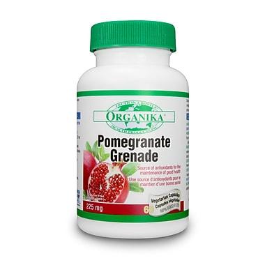 Organika® Pomegranate Vegetarian Capsules, 3 x 60/Pack