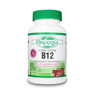 Organika® B-12 (Cyanocobalamin) Tablets, 6 x 60/Pack