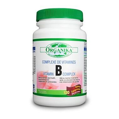 Organika® B-Complex Tablets, 2 x 120/Pack