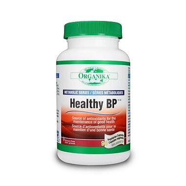 Organika® Healthy Bp Vegetarian Capsules, 3 x 90/Pack