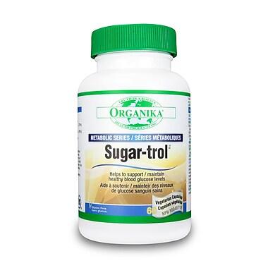 Organika® Sugar-trol Vegetarian Capsules, 3 x 60/Pack
