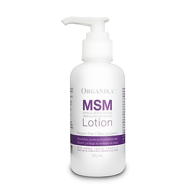 Organika® MSM Lotion, 4 x 125ml/Pack