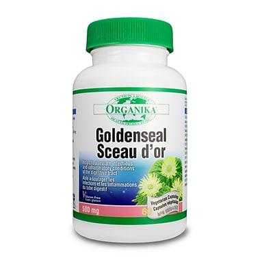 Organika® Golden Seal Vegetarian Capsules, 2 x 60/Pack