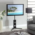 Wildon Home   Adjustable Height Swivel Mount for up to 60'' Flat Panel Screens
