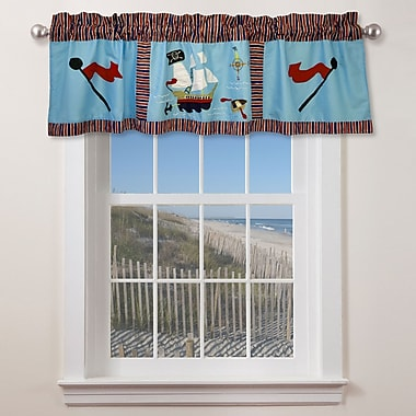 My World Pirate Treasure 70'' Curtain Valance