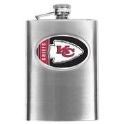 Simran NFL Bar Basics Hip Flask; Kansas City Chiefs