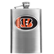 Simran NFL Bar Basics Hip Flask; Cincinnati Bengal's