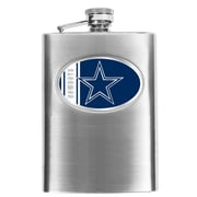 Simran NFL Bar Basics Hip Flask; Dallas Cowboys