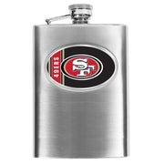 Simran NFL Bar Basics Hip Flask; San Francisco 49ers