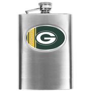 Simran NFL Bar Basics Hip Flask; Green Bay Packers