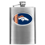 Simran NFL Bar Basics Hip Flask; Denver Broncos