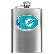 Simran NFL Bar Basics Hip Flask; Miami Dolphins