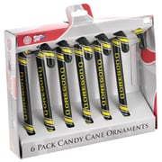 Forever Collectibles NCAA Candy Cane Ornaments (Set of 6); Oregon Ducks