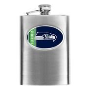 Simran NFL Bar Basics Hip Flask; Seattle Seahawks