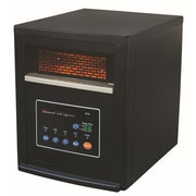 Advanced Tech Infrared Vortex Portable Space Heater with Remote