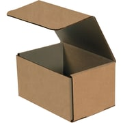 "07""x5""x4"" Partners Brand Corrugated Mailers, 50/Bundle (M754K)"