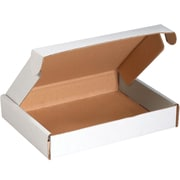 Partners Brand White Deluxe Literature Mailers 25 per Pack