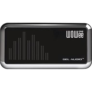 WOWee One – Haut-parleur portatif Classic, noir chrome