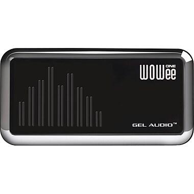 WOWee One Classic Portable Speaker, Chrome Black
