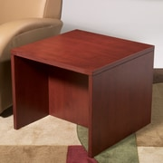 OSP Furniture Napa End Table; Cherry