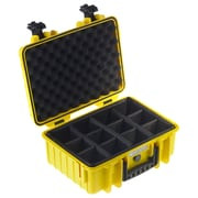 B&W Type 4000 Outdoor Case with RPD Insert; Yellow