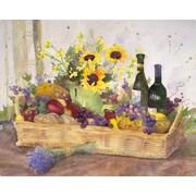 Magic Slice California Wine Basket by Judy Buswell Non-Slip Flexible Cutting Board; 12'' L x 15'' W