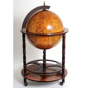 Old Modern Handicrafts Globe Drinks Cabinet Floor Standard