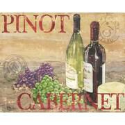 Magic Slice Chateau Wine by Paul Brent Non-Slip Flexible Cutting Board; 12'' L x 15'' W