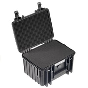 B&W Type 2000 Outdoor Case with SI Foam; Black