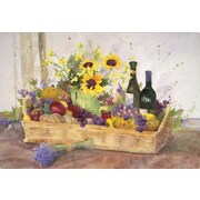 Magic Slice California Wine Basket by Judy Buswell Non-Slip Flexible Cutting Board; 7.5'' L x 11'' W