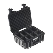 B&W Type 3000 Outdoor Case with RPD Insert; Black