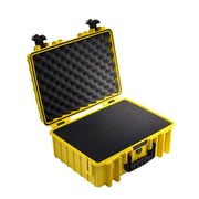 B&W Type 5000 Outdoor Case with SI Foam; Yellow