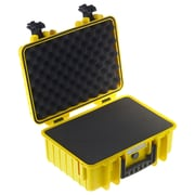 B&W Type 4000 Outdoor Case with SI Foam; Yellow