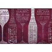 Magic Slice Vino Lingo by Paul Brent Non-Slip Flexible Cutting Board; 7.5'' L x 11'' W