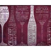 Magic Slice Vino Lingo by Paul Brent Non-Slip Flexible Cutting Board; 12'' L x 15'' W