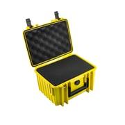 B&W Type 2000 Outdoor Case w/ SI Foam; Yellow