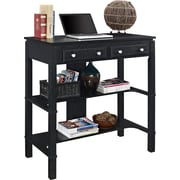"Altra Furniture 9831096 37.8"" Engineered Wood Writing Desk, Black"