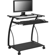 "Altra Furniture 9378196 29"" Metal Computer Desk, Black"