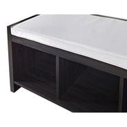 Altra Furniture Paddington 7522196 Engineered Wood Storage Bench, Espresso
