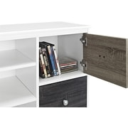 "Altra Furniture 1739096 47.5"" Engineered Wood TV Console, White"