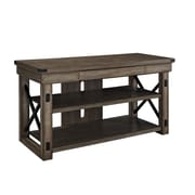 "Altra Wildwood Wood Veneer 50"" TV Stand, Rustic Gray"