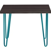 Altra Owen Retro Stool, Espresso/Teal