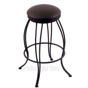 Holland Bar Stool Georgian 30'' Swivel Bar Stool with Cushion; Allante Espresso