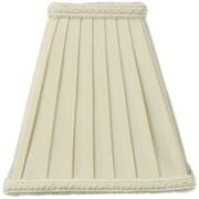 Home Concept 5'' Classics Premium Shantung Square Lamp Shade